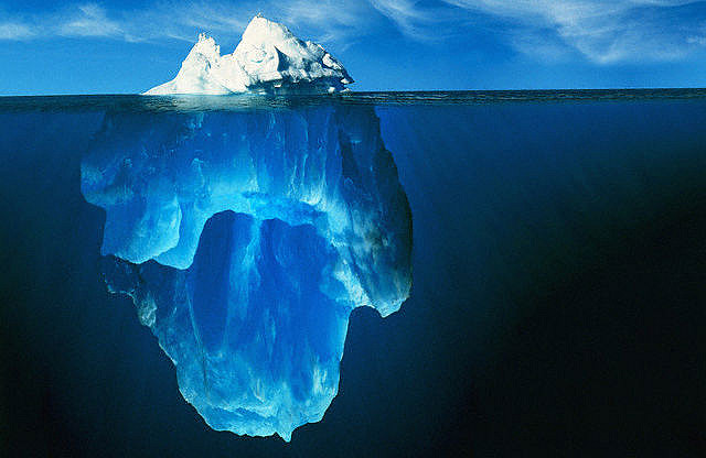 Iceberg by here
